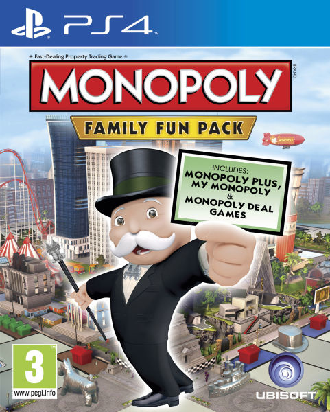 Monopoly Family Fun Pack (PS4)-thumb