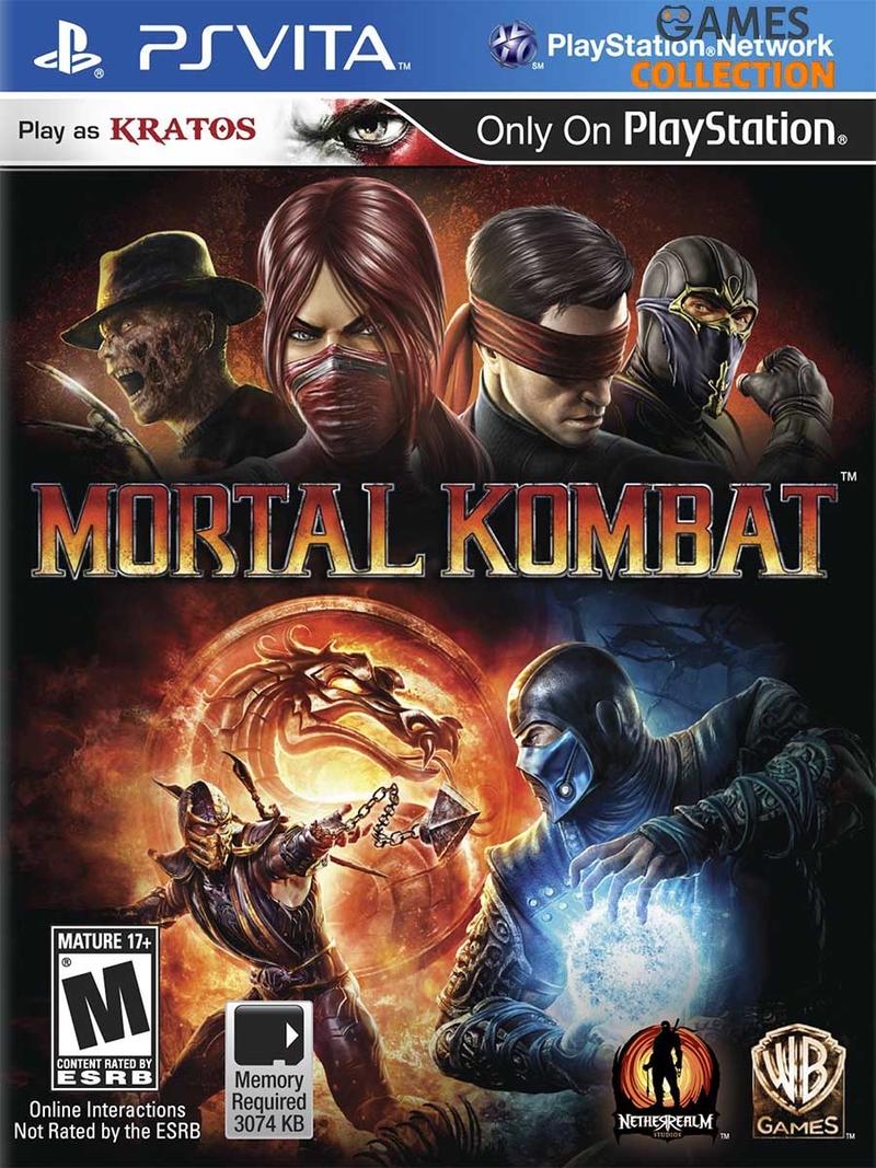 Mortal Kombat Без коробки (PS Vita)-thumb