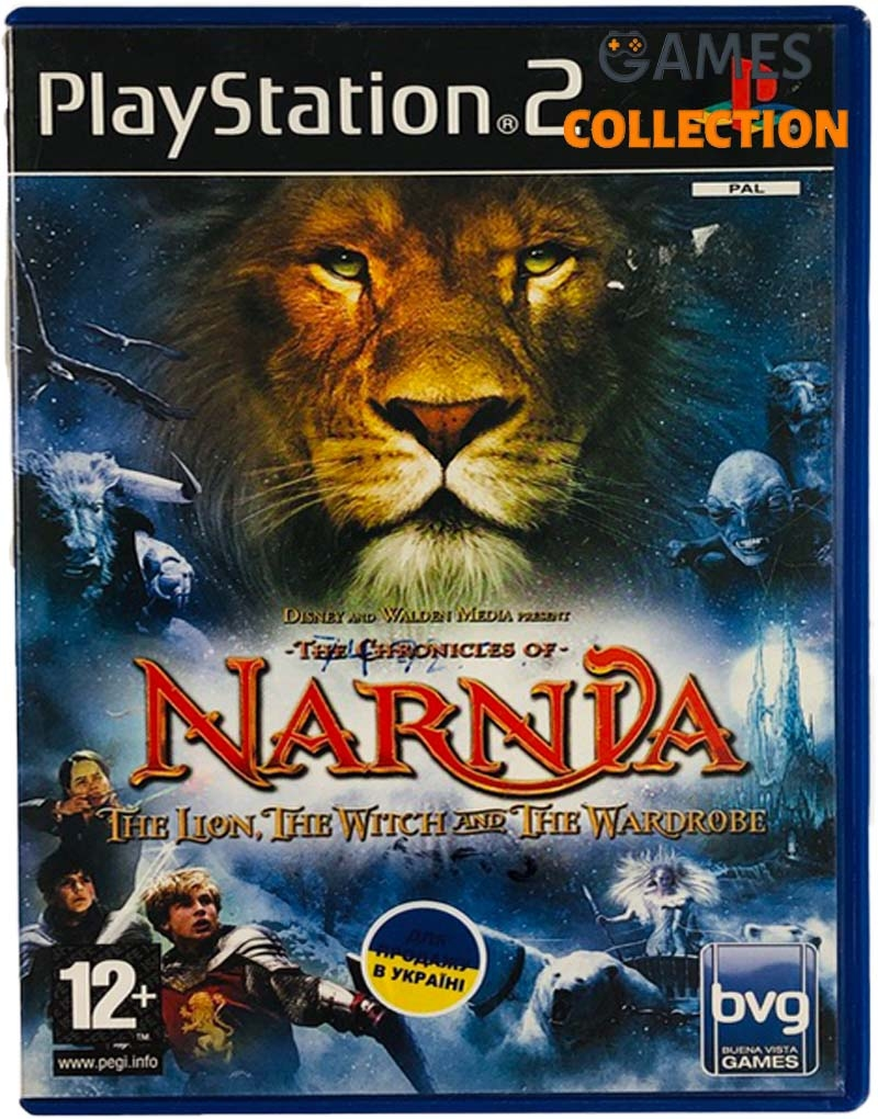 The Chronicles of Narnia: The Lion, The Witch and The Wardrobe (PS2) Б/У-thumb