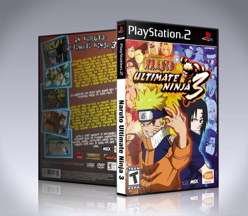 Naruto Ultimate Ninja 3 (PS2)-thumb