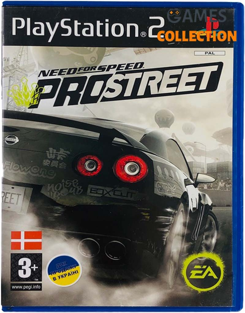 Need for Speed: ProStreet (PS2) Б/У-thumb