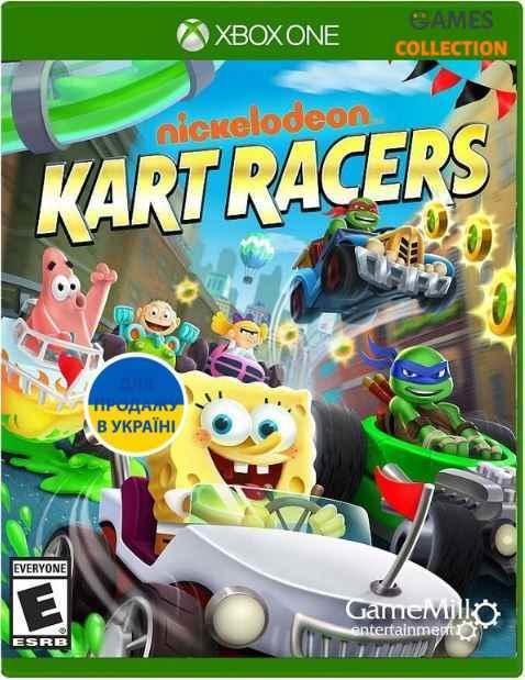 Nickelodeon Kart Racers (XBox One)-thumb