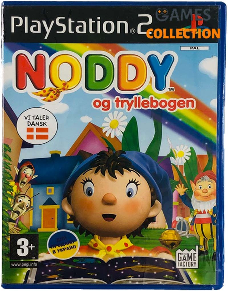 Noddy: A Day in Toyland (PS2) Б/У-thumb