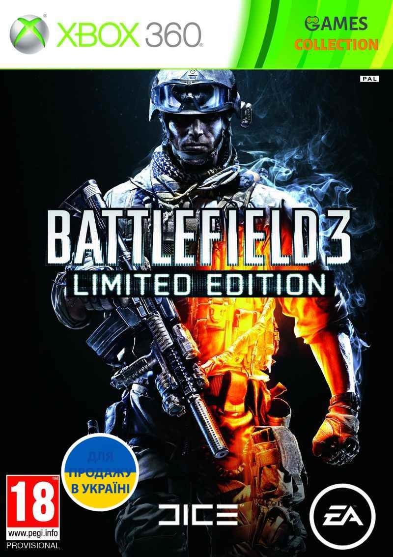 Battlefield 3 Limited Edition (XBox 360) Б/У-thumb