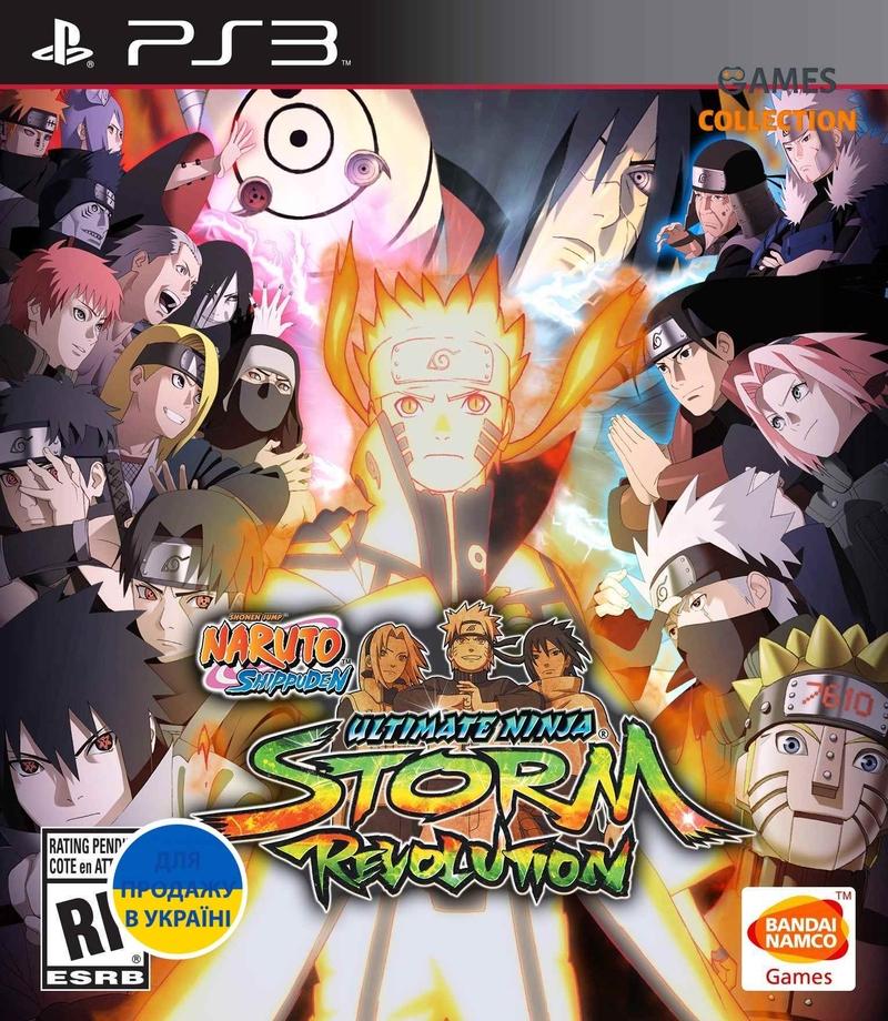 Naruto Shippuden: Ultimate Ninja Storm Revolution (PS3)-thumb