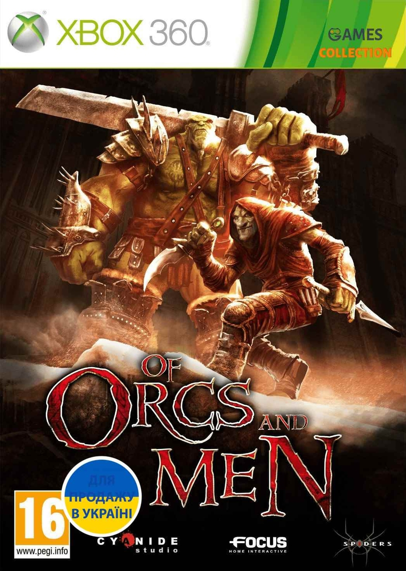 Of Orcs and Men (XBOX360)-thumb
