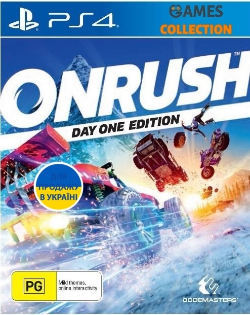 Onrush Day One Edition (PS4)-thumb