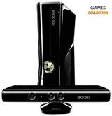 Microsoft Xbox 360 Slim 250Gb 35 игр (Freeboot) + Kinect (Б/У)-thumb