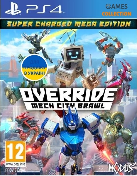 Override: Mech City Brawl (Super Charged Mega Edition) (PS4)-thumb