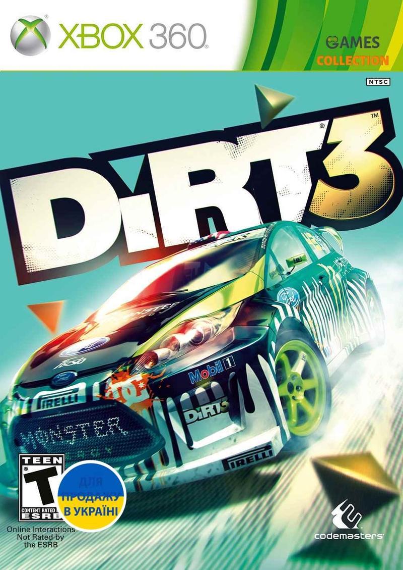 DiRT 3 (XBOX360) Б/у-thumb