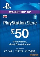 КАРТА ОПЛАТЫ 50 USD (USA) PLAYSTATION NETWORK-thumb