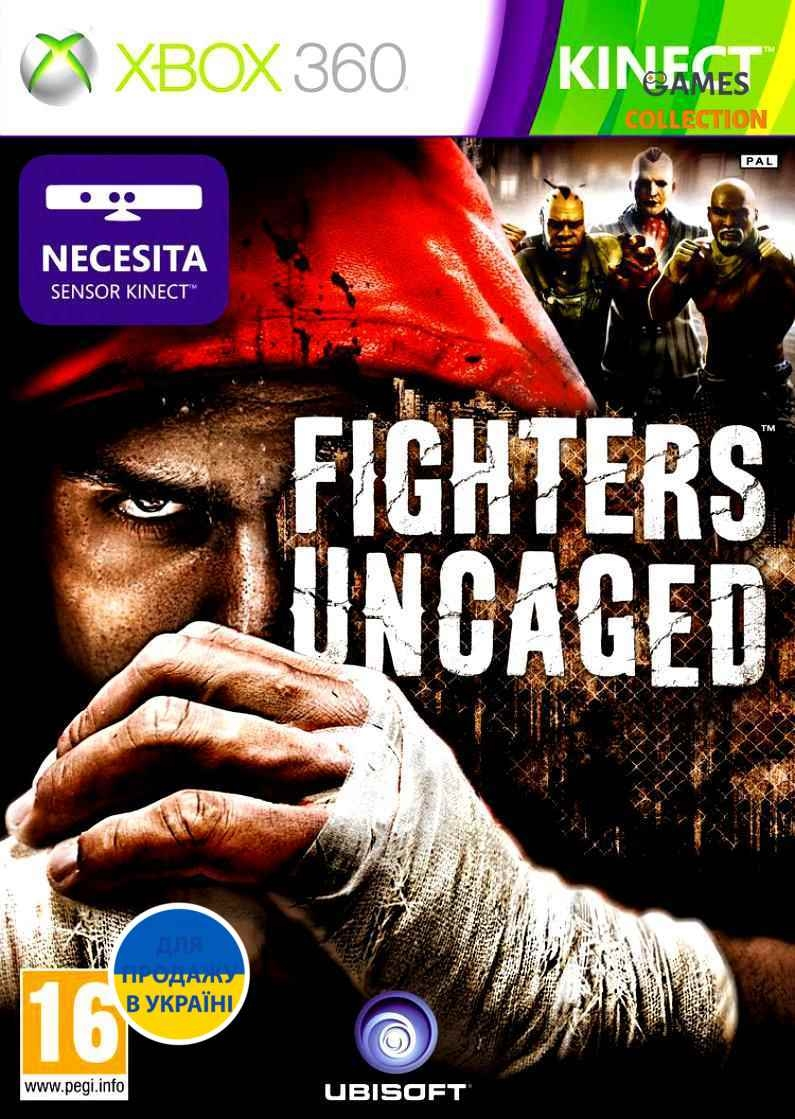 Fighters Uncaged Kinect (XBOX360)-thumb