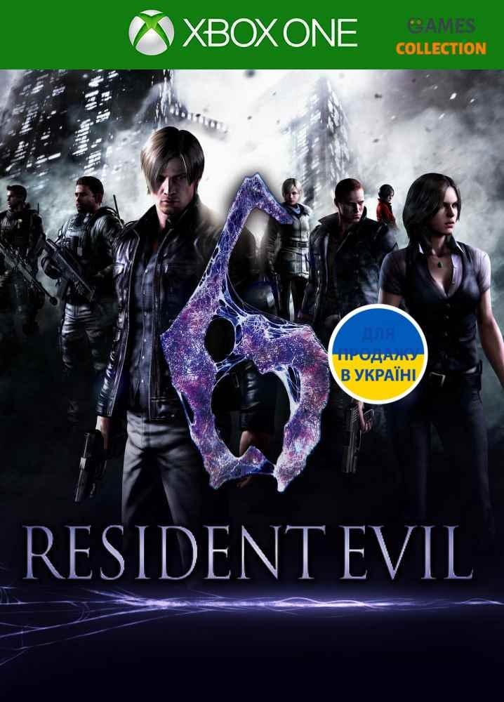 Resident Evil 6 (XBox One)-thumb