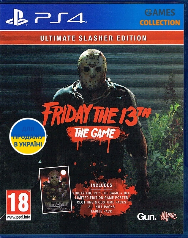Friday the 13th the game/ultimate slasher edition (PS4)-thumb