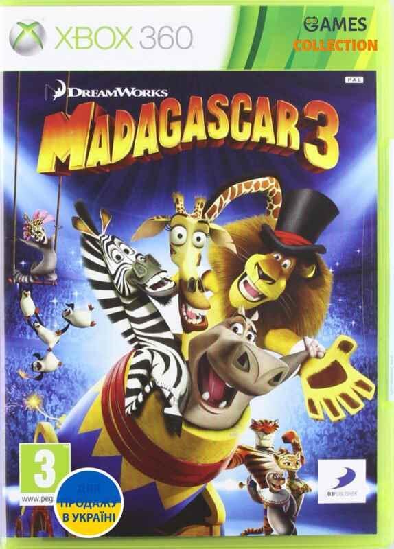 Madagascar 3: The Video Game(XBOX360)-thumb