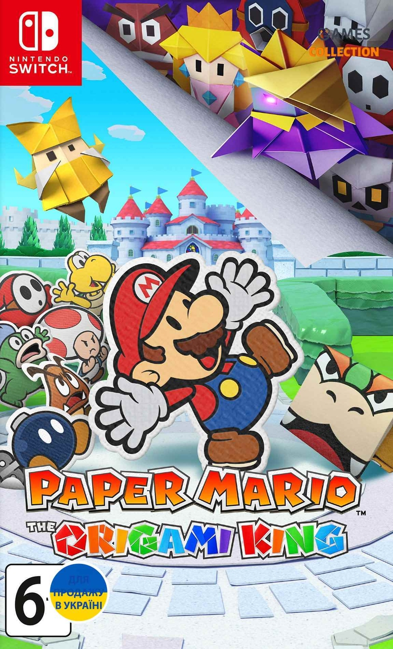Paper Mario: The Origami King (Swich)-thumb