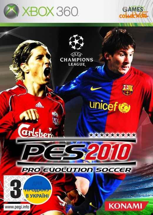 Pro Evolution Soccer 2010 (XBOX360) Б/У-thumb