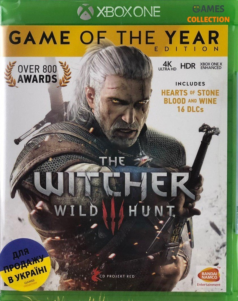 Witcher 3 Game of the Year Edition / Ведьмак 3 (Xbox One)-thumb