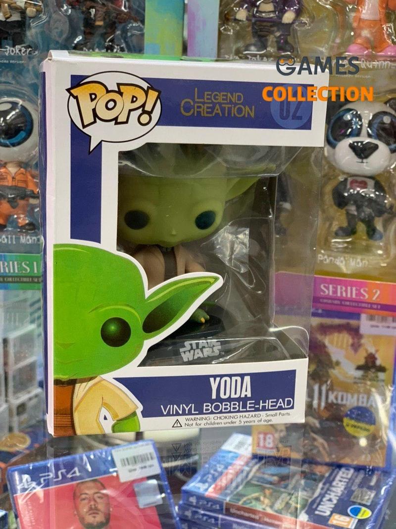 Pop Yoda Star Wars 02 (Фигурка)-thumb