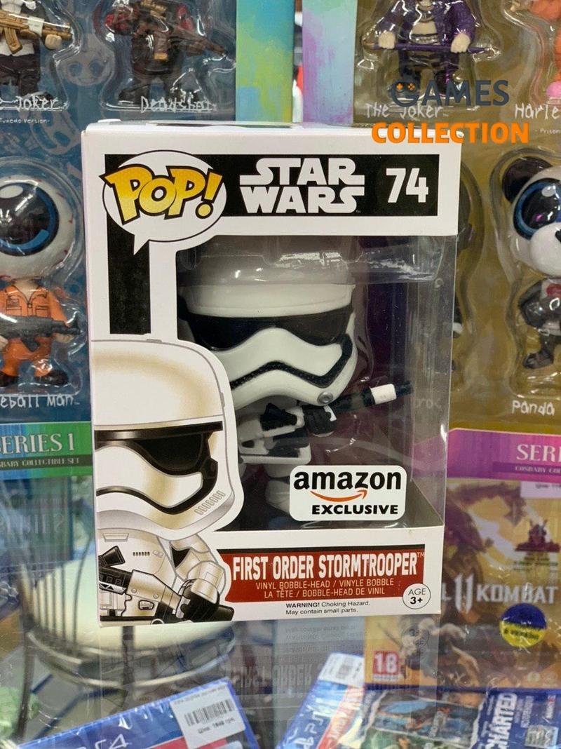POP Star Wars First Order Stormtrooper 74 (Фигурка)-thumb