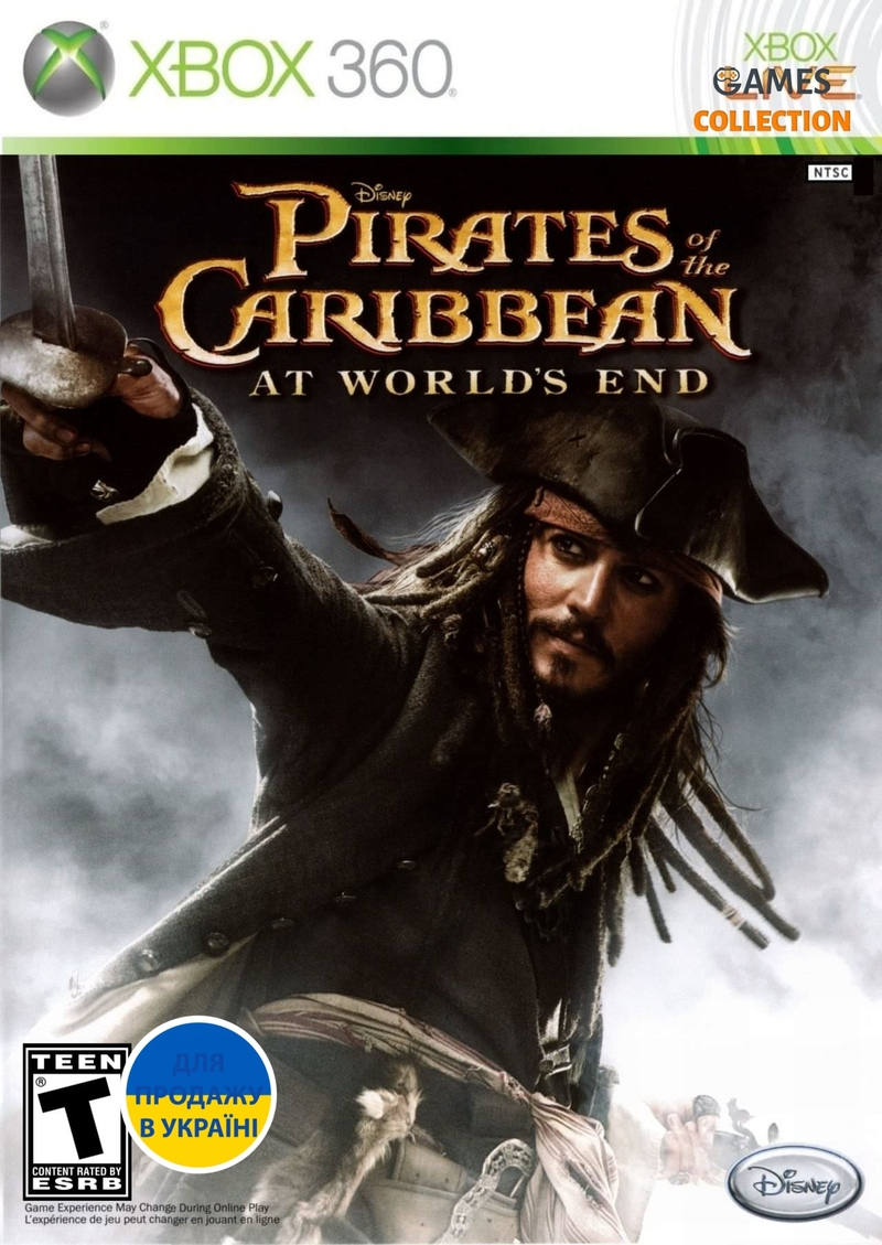 Pirates of the Caribbean: At World's End (Xbox 360) Б/У-thumb