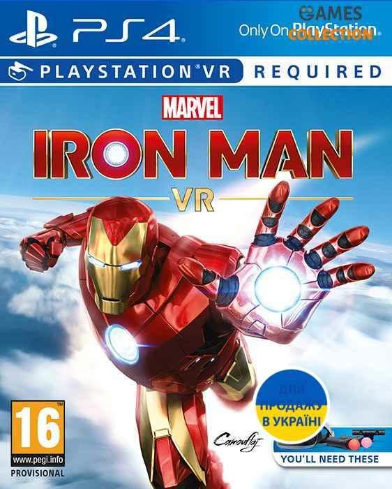 Marvel's Iron Man VR (с поддержкой VR) (PS4)-thumb