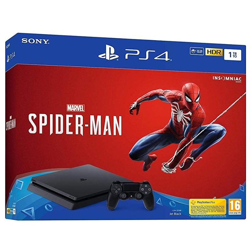 Marvel's Spider-Man PlayStation 4 Slim 1TB Bundle-thumb