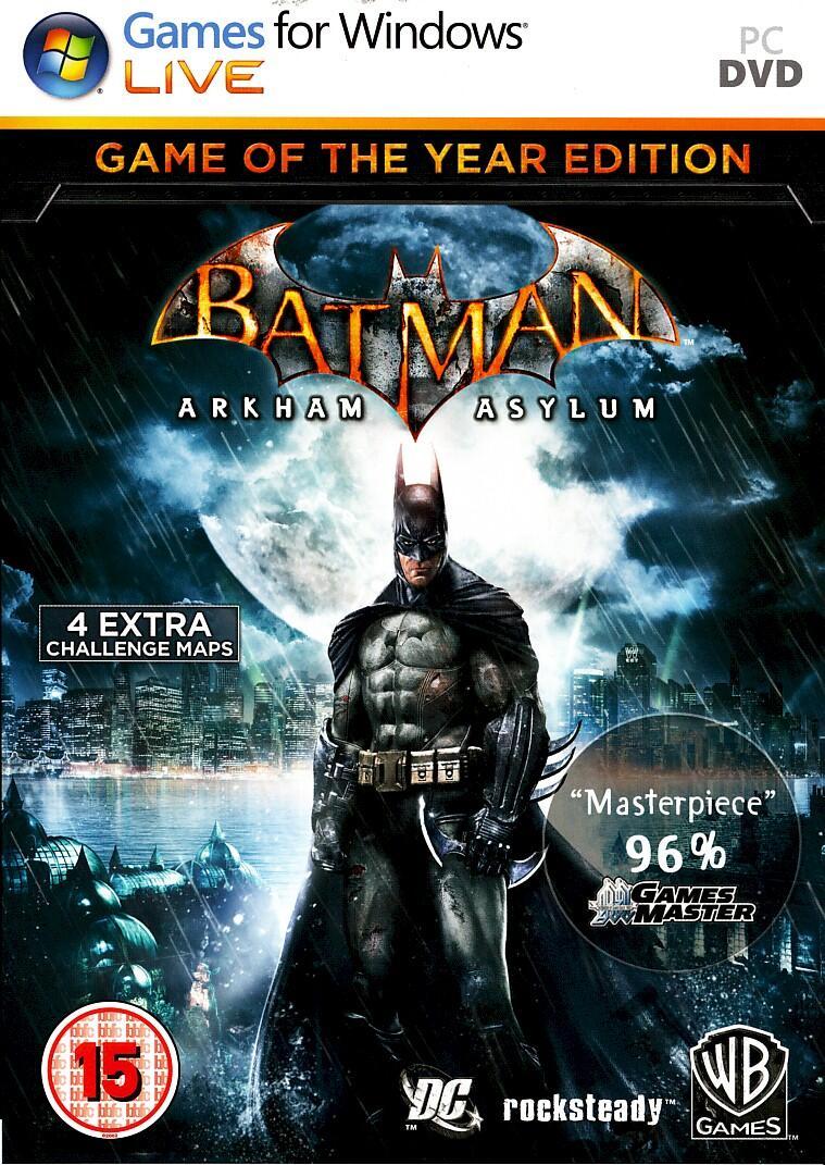 Batman: Arkham Asylum GOTY (PC)-thumb