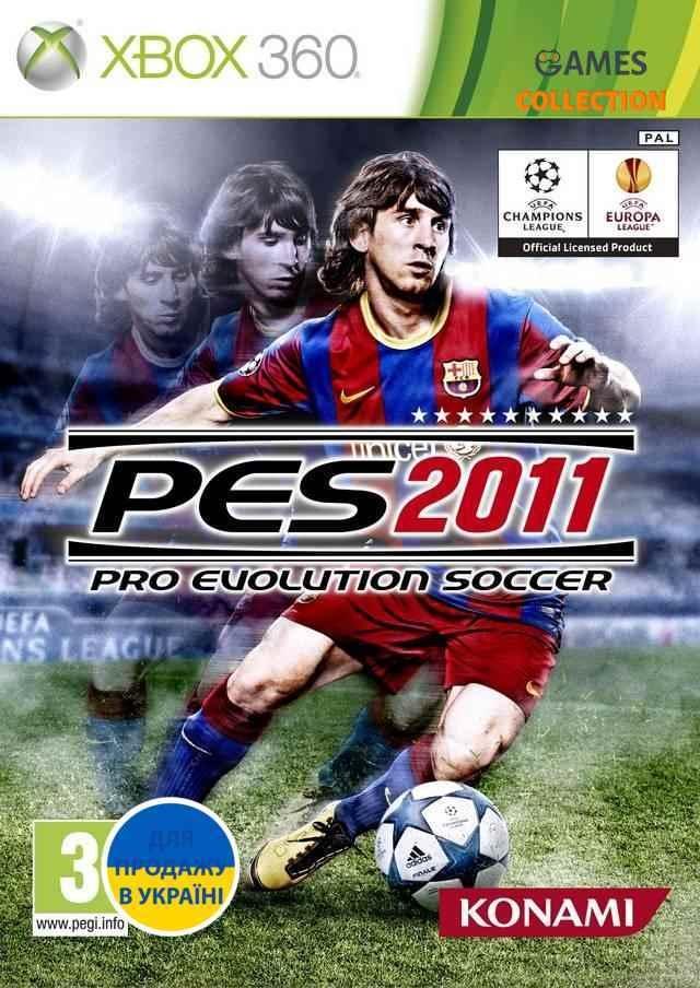 PES 2011 Лтцензия (XBOX360) Б/У-thumb