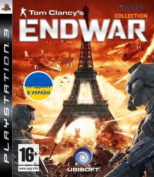 Tom Clancy's EndWar (PS3)-thumb
