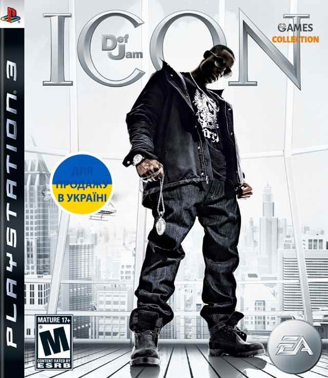Def jam ICON (PS3) Б/У-thumb