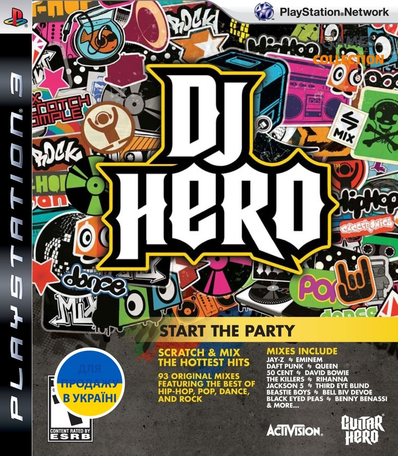 DJ Hero: Start the Party (PS3)-thumb