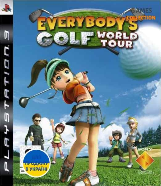 Everybody's Golf: World (PS3)-thumb
