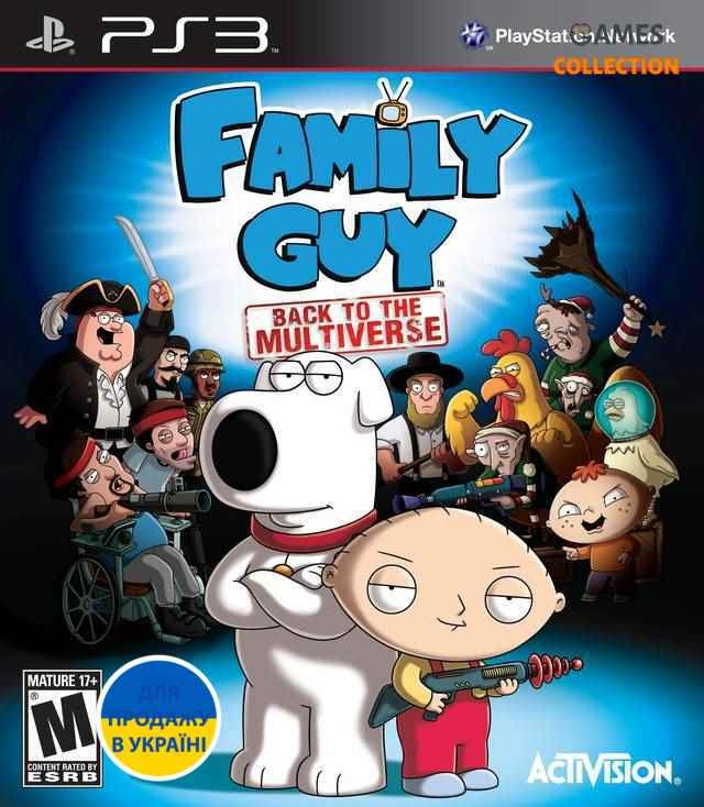 Family Guy: Back to the Multiverse (PS3) Б/У-thumb