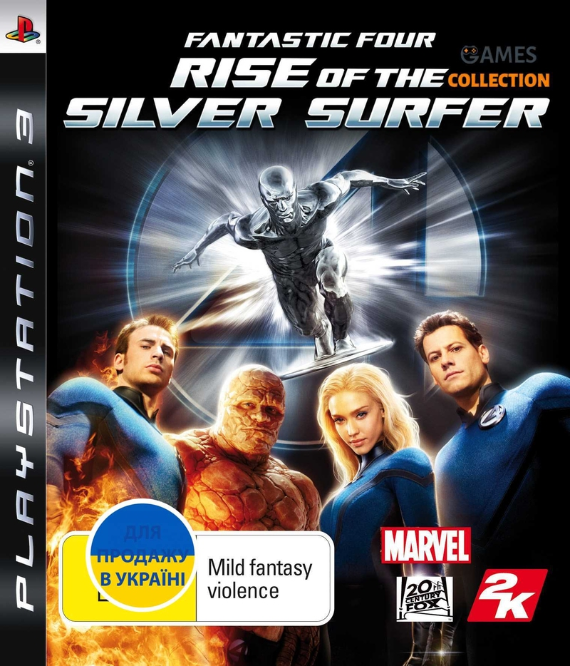 Fantastic 4: Rise of the Silver Surfer (PS3)-thumb