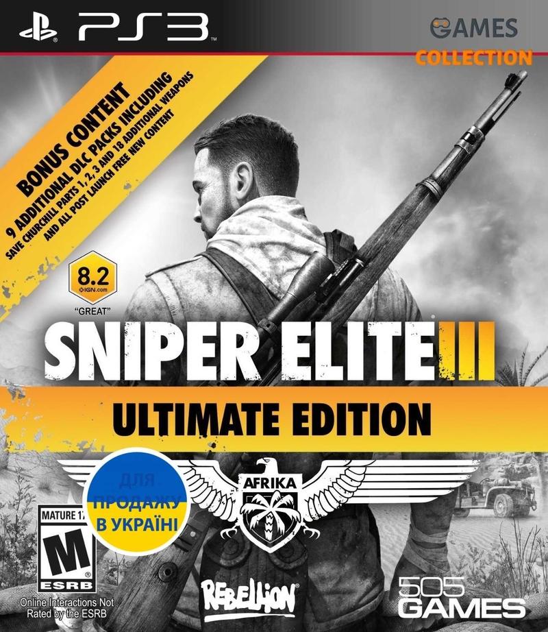 Sniper Elite III: Ultimate Edition (PS3)-thumb