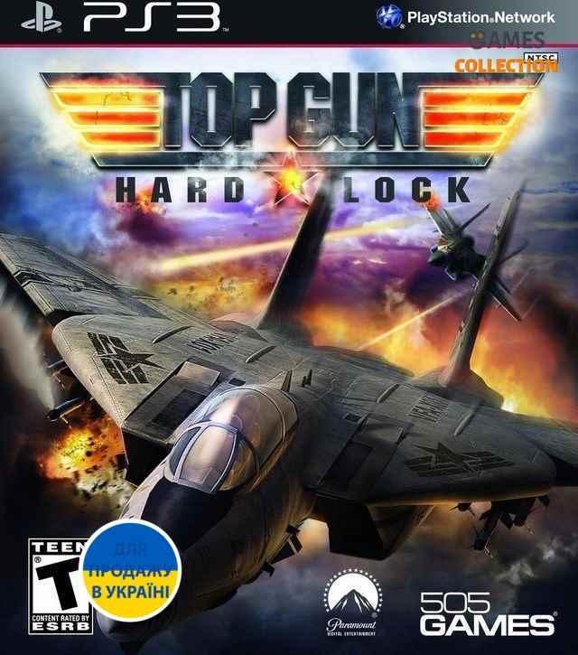 Top Gun: Hard Lock (PS3) Б/У-thumb