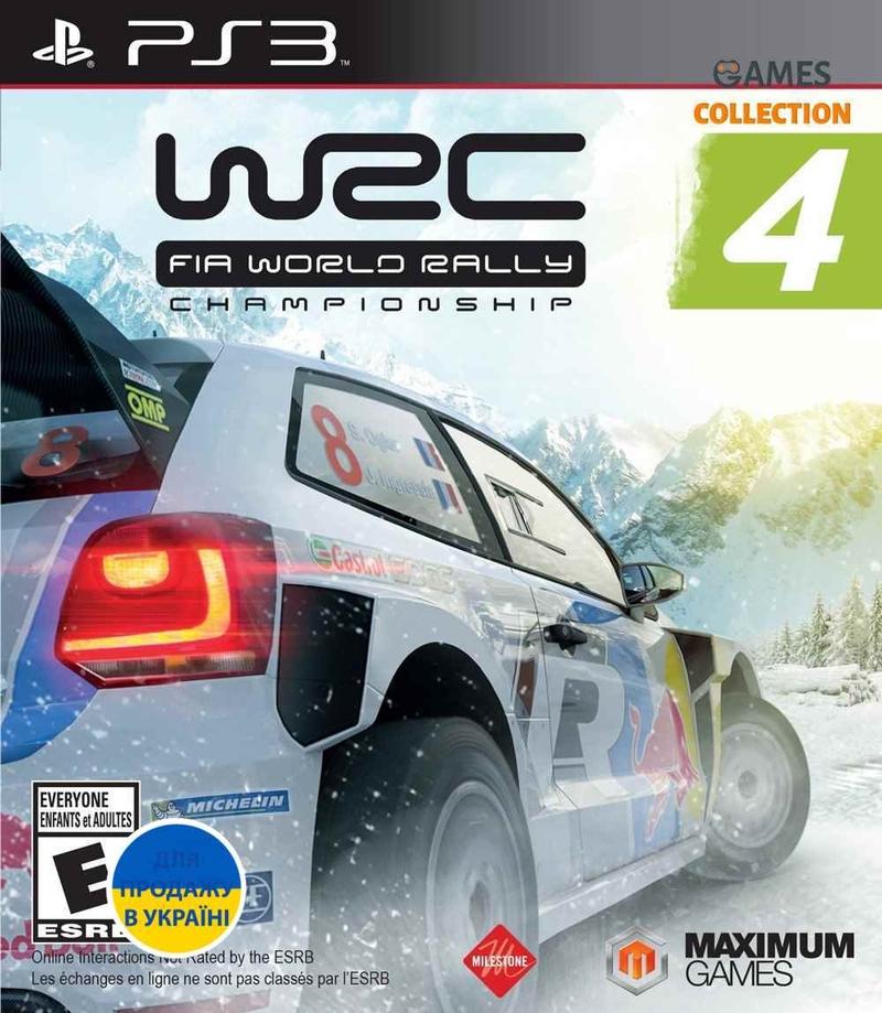 WRC: FIA World Rally Championship 4 (PS3)-thumb