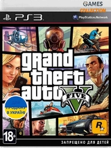 GTA 5: Grand Theft Auto  V (PS3) (Новый)-thumb