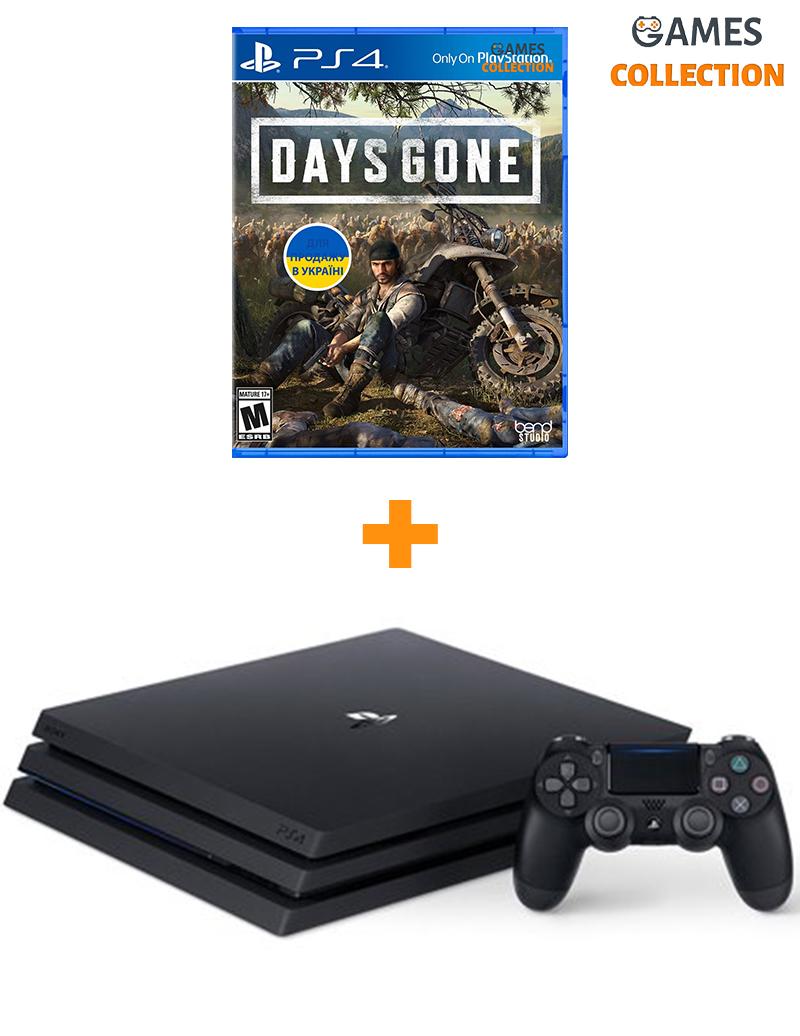 Sony PS4 Pro 1TB + игра Days Gone-thumb
