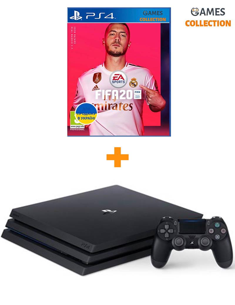 SONY PlayStation4 PRO 1TB + ИГРА FIFA 20 (PS4)-thumb