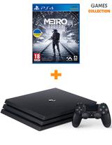 Sony PS4 Pro 1TB + игра Metro Exodus-thumb