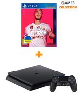 Sony PS4 slim 1Tb + игра Fifa20-thumb