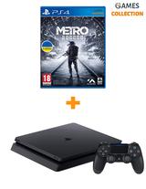 Sony PS4 slim 500gb + игра Metro Exodus-thumb