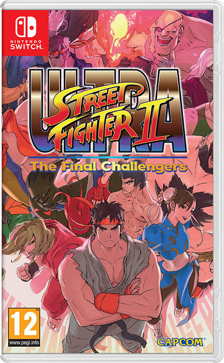Ultra Street Fighter 2: The Final Challengers (Switch)-thumb