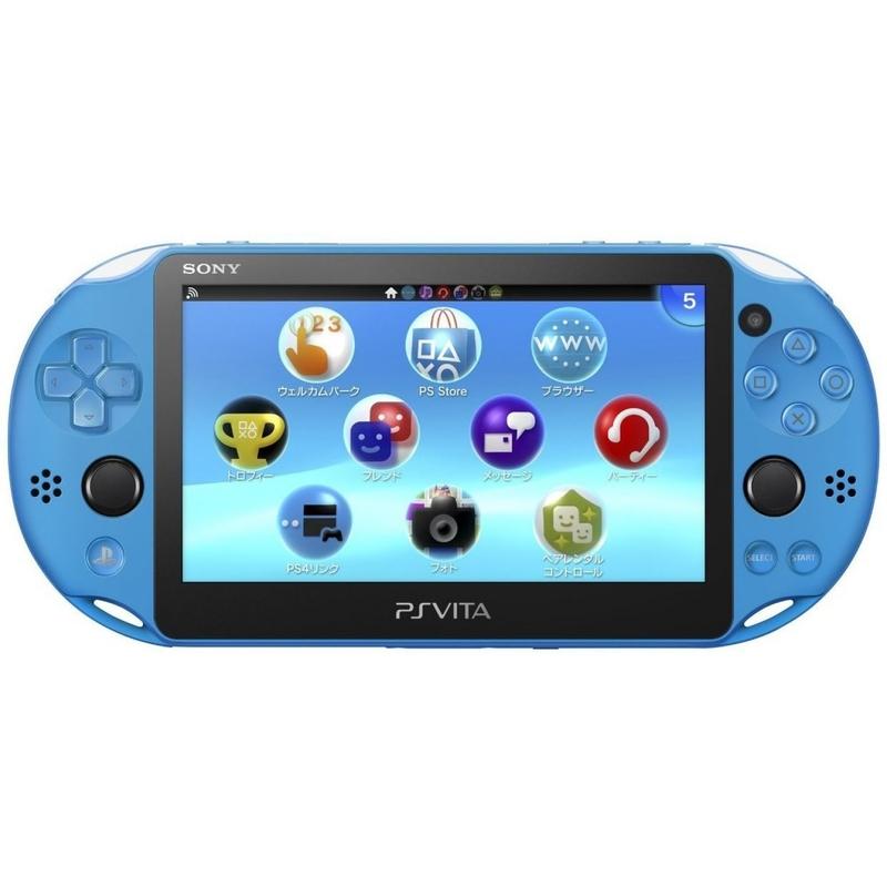 PS Vita Slim, AQUA BLUE-thumb