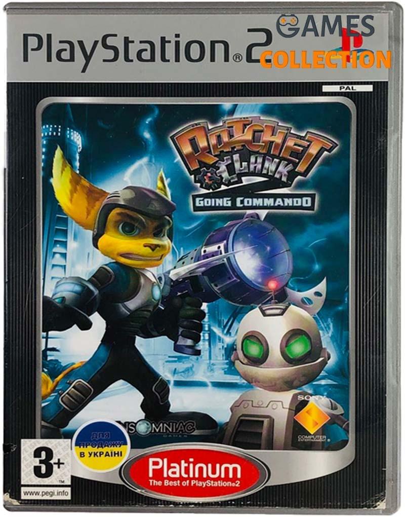 Ratchet & Clank: Going Commando (PS2) Б/У-thumb