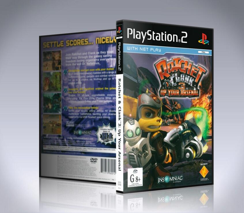Ratchet & Clank Up Your Arsenal (ps2)-thumb