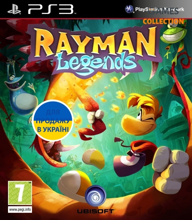 Rayman Legends (PS3)-thumb