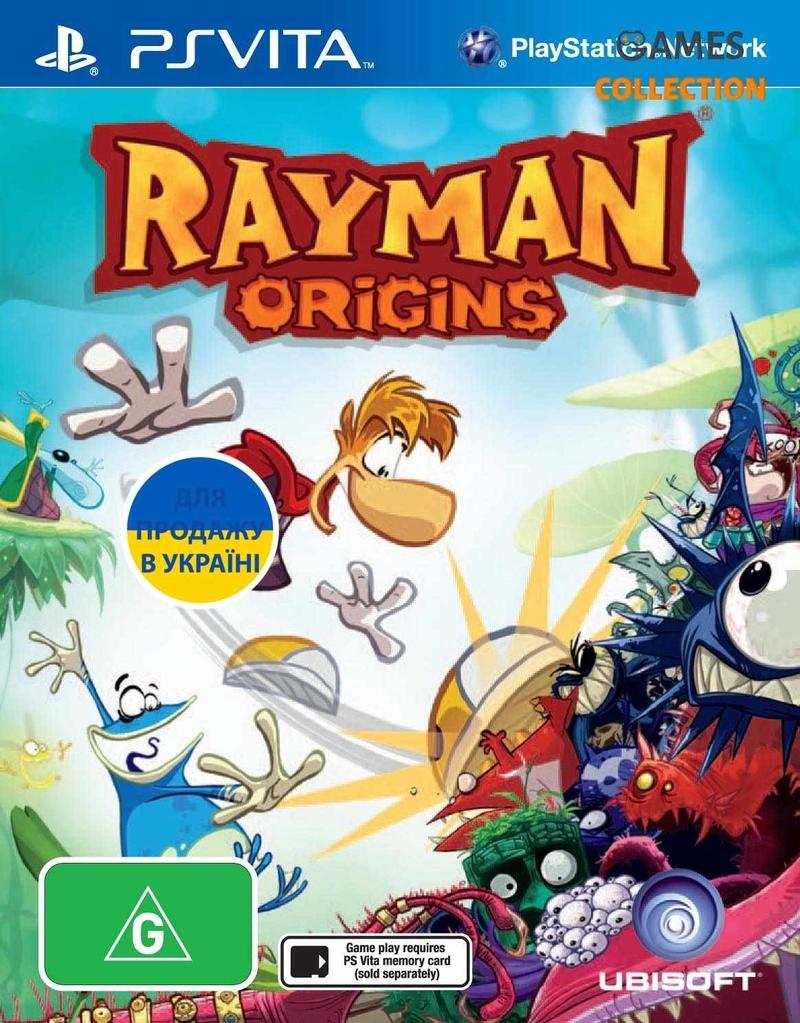 <b>Rayman</b> Origins (<b>PS</b> Vita) купить в Киеве с доставкой. Купить в ...